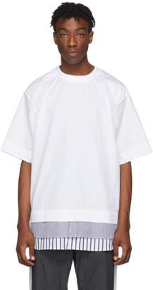 Juun.J White Shirting T-Shirt
