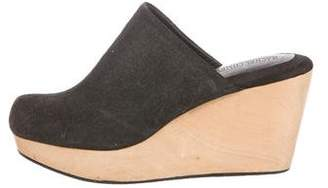 Rachel Comey Leather Wedge Mules