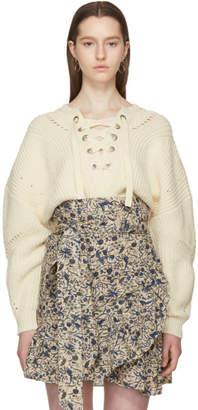 Isabel Marant Ecru Laley Sweater