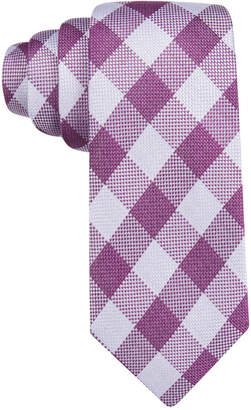 Tasso Elba Men's Catania Check Tie, Created for Macy's