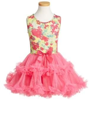 Popatu Floral Print Tutu Dress