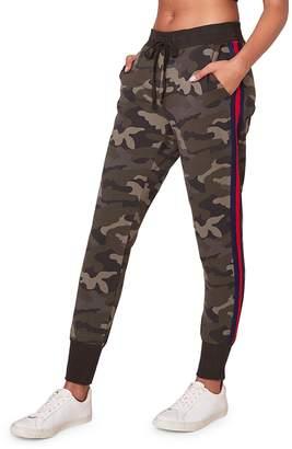 BB Dakota Leg Room Camouflage-Print Sweatpants
