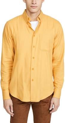 Naked & Famous Denim Easy Shirt In Honey Flannel