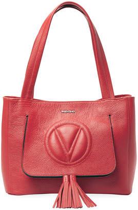 Mario Valentino Valentino By Estelle Dollaro Leather Shoulder Bag