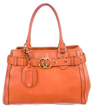 Gucci Leather GG Running Tote