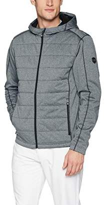 Cutter & Buck Men's Insulated and Quilted Altitude Full Zip Hooded Fleece Jacket