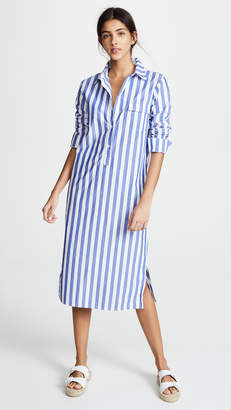 Stateside Oxford Button Down Dress