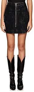"Givenchy Women's Denim ""Backwards"" Miniskirt - Black"
