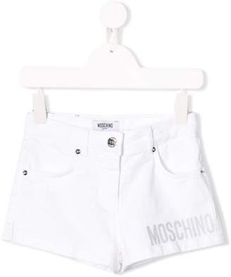 Moschino Kids denim shorts