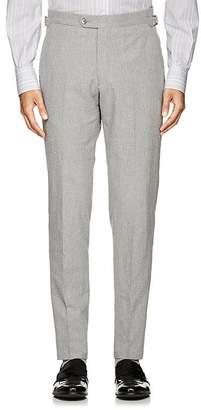 P. Johnson Men's Cotton Seersucker Slim Trousers