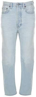 Acne Studios Blå Konst Log Low-rise Jeans