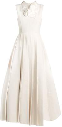 Awake True Starfish sleeveless pleated gown