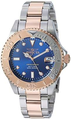 Invicta Women's 'Pro Diver' Quartz Stainless Steel Diving Watch