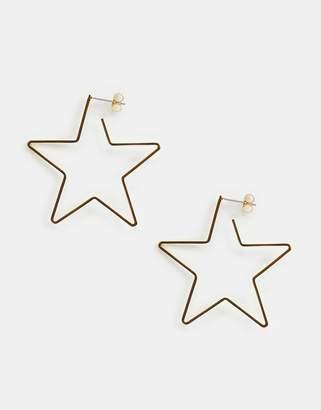 Whistles star earrings
