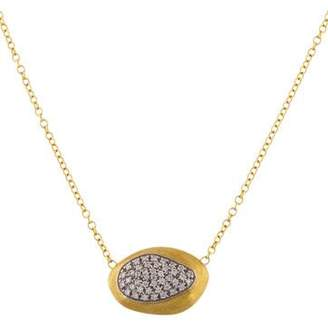 Marco Bicego 18K Pavé Diamond Pendant Necklace