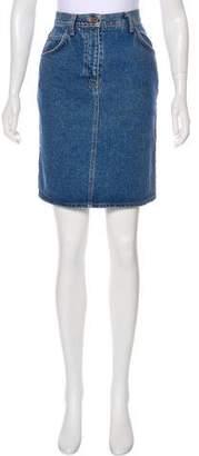Valentino Jeans Vintage Denim Skirt