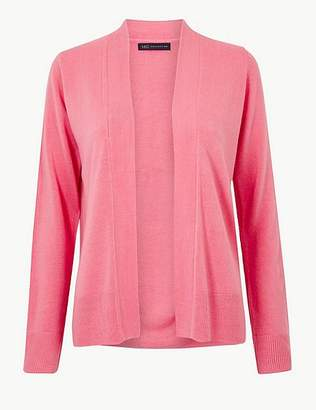 Marks and Spencer Textured Open Front Cardigan