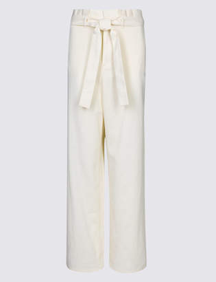 Limited Edition Pure Cotton Wide Leg Culottes