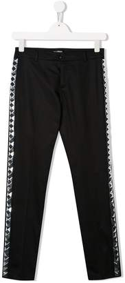 Balmain Kids TEEN side panelled tailored trousers