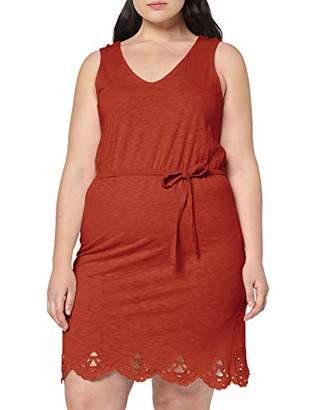 Junarose Women's Jrrisa Sl Above Knee Dress - S Brown Arabian Spice, (Size: Oversize XL)