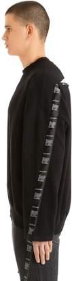 Vetements Logo Tape Cotton Sweatshirt