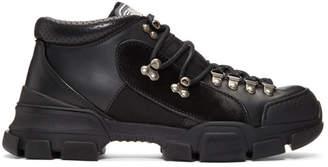 Gucci Black Flashtrek High-Top Sneakers