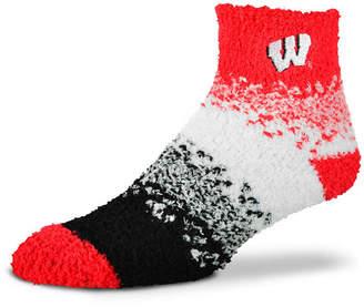 For Bare Feet Wisconsin Badgers Marquee Sleep Soft Socks