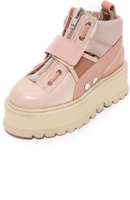 PUMA x FENTY Strap Sneaker Booties $390 thestylecure.com