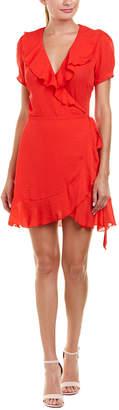 Lucy Paris She's A Flirt Wrap Dress