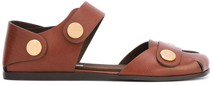 Stella McCartney flat closed toe sandals