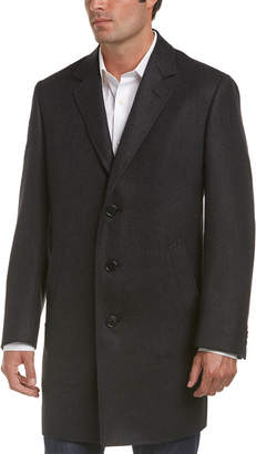 Canali Wool Overcoat