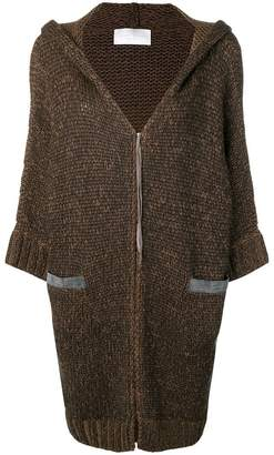 Fabiana Filippi hooded cardigan