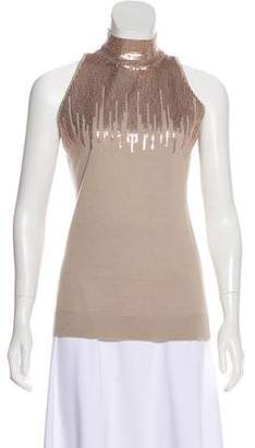 Worth Wool Sequin Embellished Top