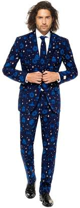 Star Wars Opposuits Men's OppoSuits Slim-Fit Starry Side Novelty Suit & Tie Set