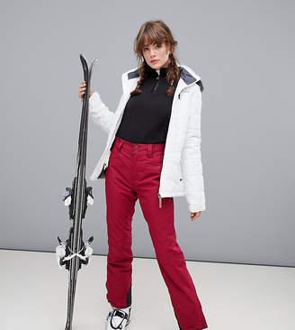 Protest Kensington ski trouser in red