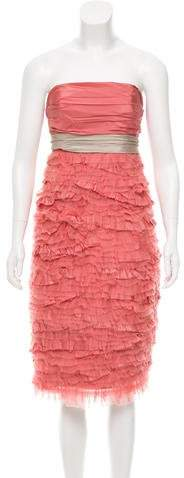 Marc Jacobs Marc Jacobs Silk Ruffled Dress