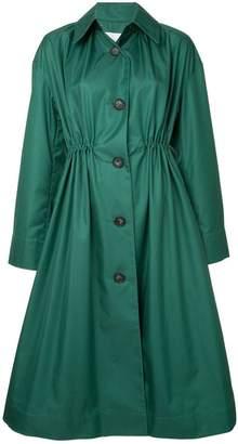 Le Ciel Bleu button-up coat