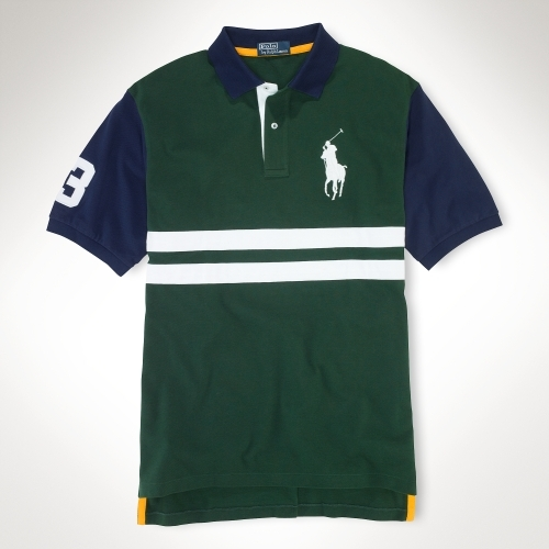 Polo Ralph Lauren Big & Tall Classic-Fit Striped Polo