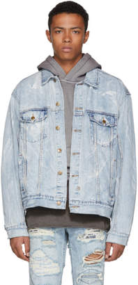 Ksubi Blue Oh G Denim Jacket