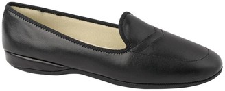 Daniel Green Leather Slip-on Slippers with Back- Meg