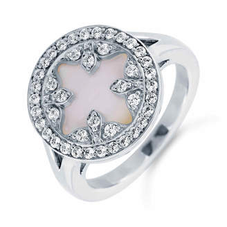 Treasure Empress 18ct White Gold and 0.32cttw Diamond Ring