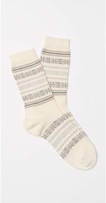 J.Mclaughlin Women's Fairisle Socks