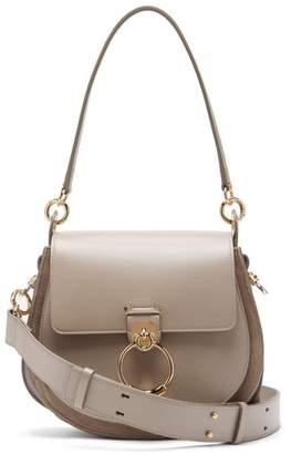 Chloé Tess Small Leather Cross Body Bag - Womens - Grey