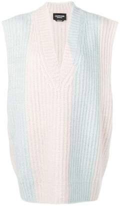 Calvin Klein ribbed sleeveless sweater