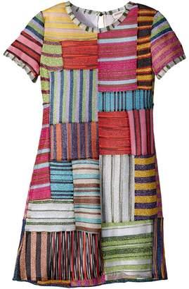Missoni Kids Mini Miss Patchwork Dress Girl's Dress