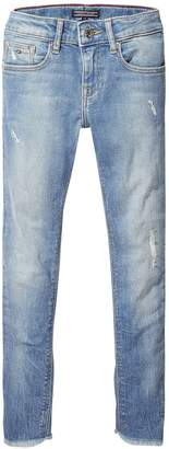Tommy Hilfiger Girls Nora Skinny Cropped Jeans