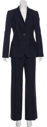 Stella McCartney Wool Wide-Leg Pantsuit