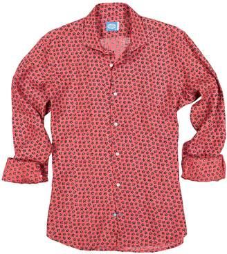 Panareha Boracay Linen Flowers Shirt