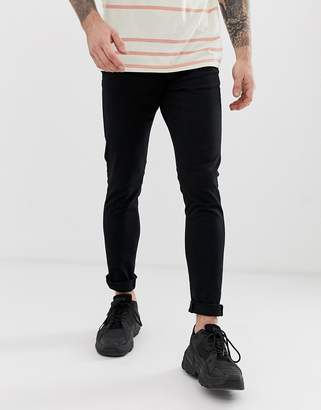 New Look Skinny Chino In Black