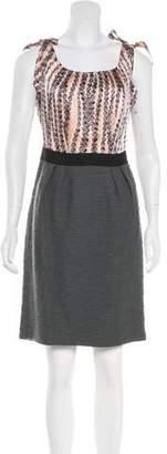 Milly Paneled Mini Dress